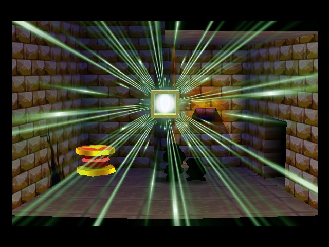 Paper Mario - Level  - Tearing open a time portal - User Screenshot